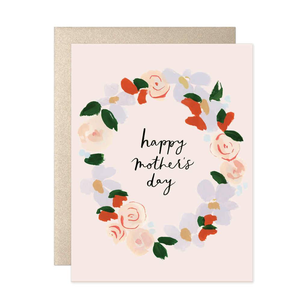 Our Heiday - Happy Mother's Day Wreath Card