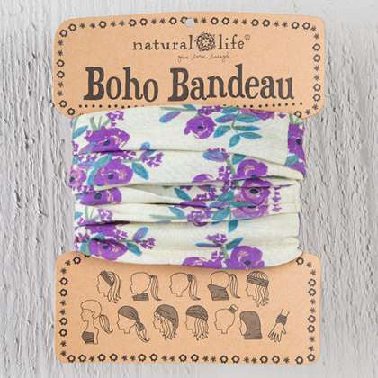 Boho Bandeau Cream Blossoms