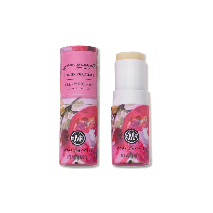 Pomegranate Solid Essential Oil Perfume - Revive