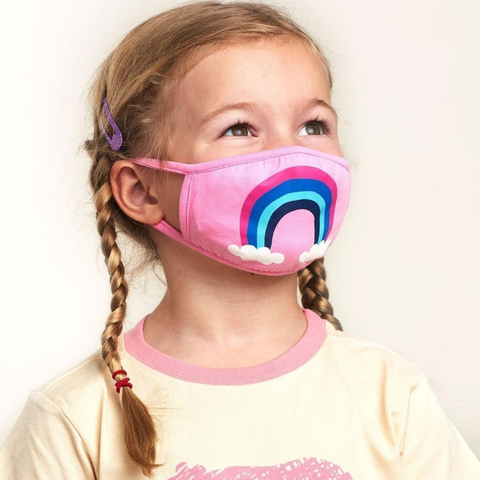 Rainbow Kids Face Mask