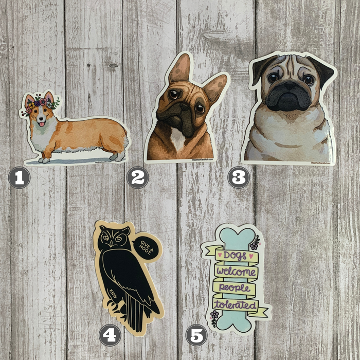 Animal Themed Stickers