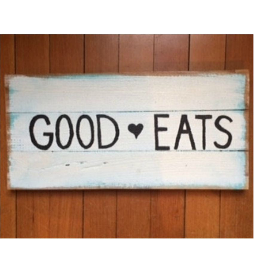 Good Eats Sign - Pulp & Circumstance - 1