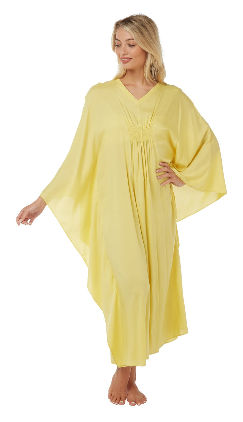 Women's Cotton Kaftan Nightwear Lounger One Size