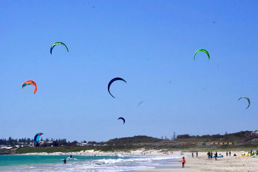 ROW rules that apply to kitesurf