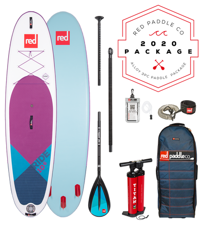 RED PADDLE RIDE 10'6 INFLATABLE SPECIAL EDITION STAND UP PADDLE BOARD SUP