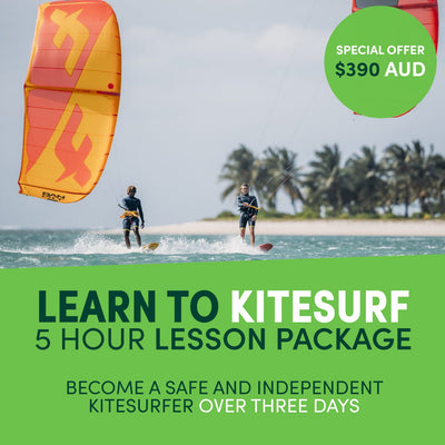 ZERO TO HERO - 5 HOURS OF KITESURFING LESSON