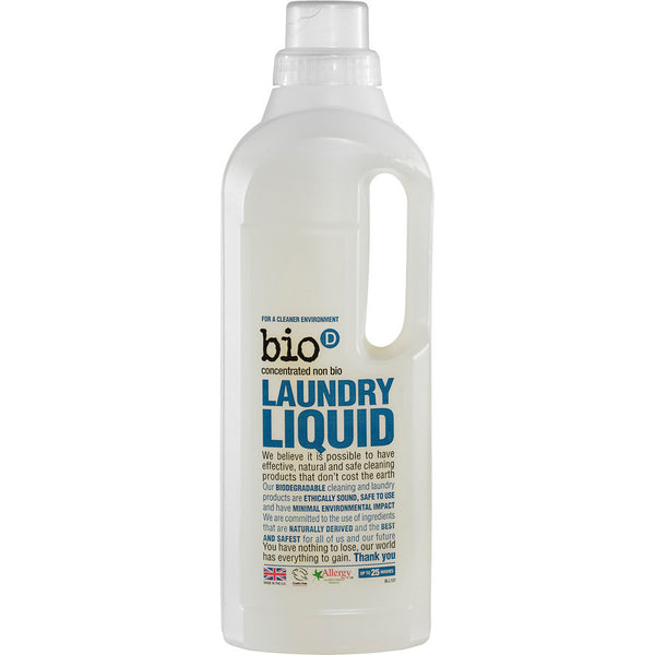 BIO D Natural Non-biological Laundry Liquid at BLANC Home