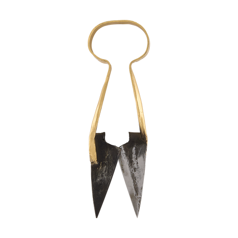 Brass & Iron Garden Scissors
