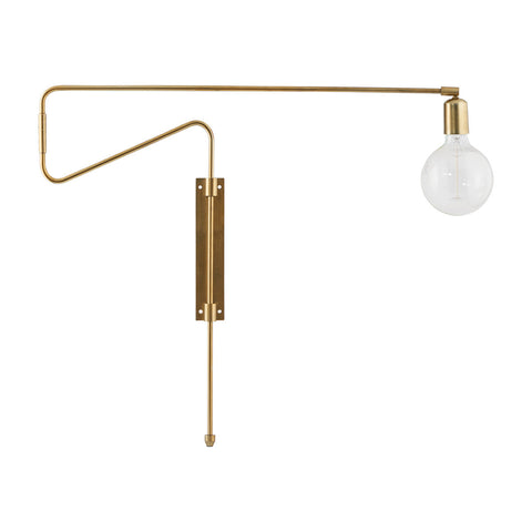 Brass Swing Wall Lamp