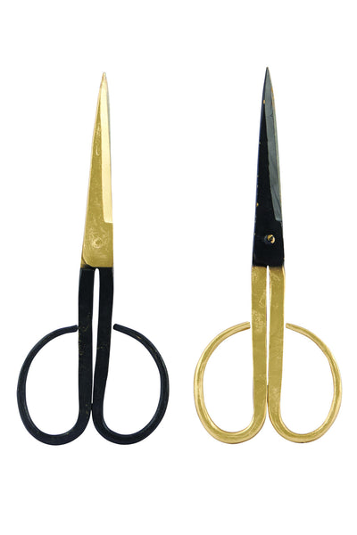 House Doctor Brass Plated Scissors at BLANC Home