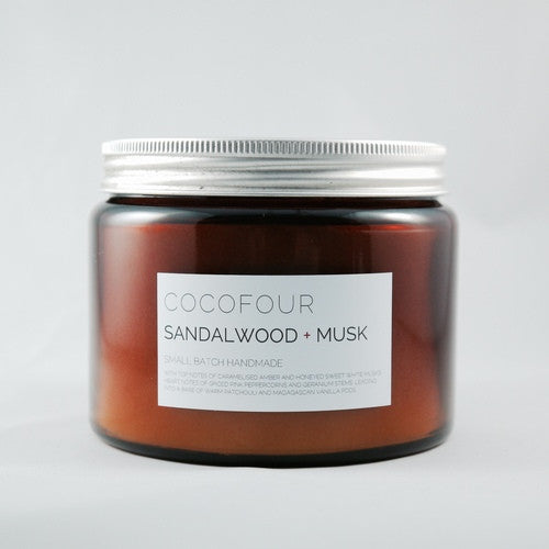 Large Hand Poured Soy Wax Candle