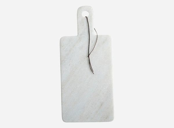 House Doctor White Marble Cheese Board at BLANC Home