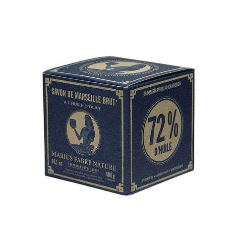 Marius Fabre Cube of Pure Marseilles Body Soap In Vintage Style Box at BLANC Home