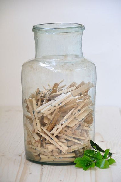 "Baileys Pack of 10 Traditional Wooden Pegs (""Storm Pegs"") at BLANC Home"