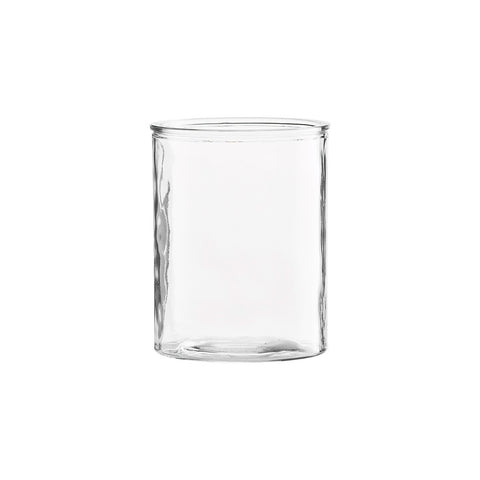 Clear Glass Pot Vase