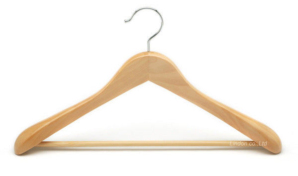 BLANC Home Set of three FSC Wooden Hangers at BLANC Home