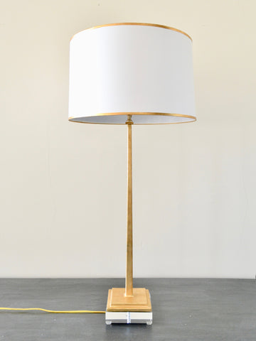Gold Leaf Beau Lamp