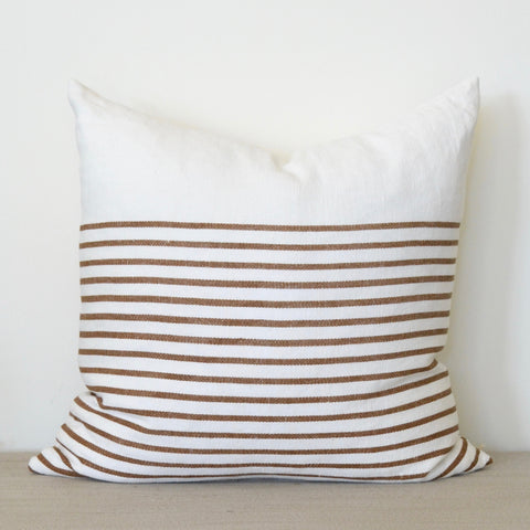 Bark Stripe Pillow