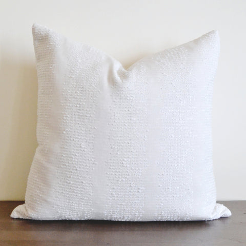 Textured Oyster Pillow