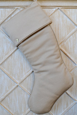 Gold Stocking with Cuff