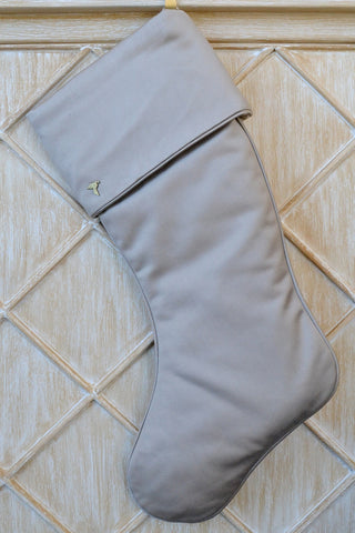 Light Gray Stocking with Cuff