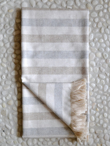 Indoor/Outdoor Striped Throw