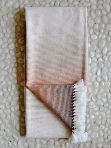 Cinnamon Ombre Throw