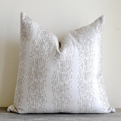 Textured Hemp Pillow