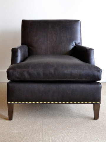 Sackett Leather Lounge Chair