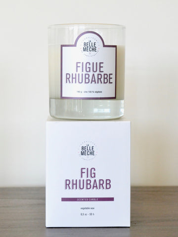 Fig Rhubarb Candle