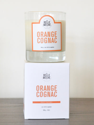 Orange Cognac Candle