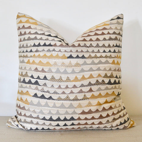 Warm Waves Pillow