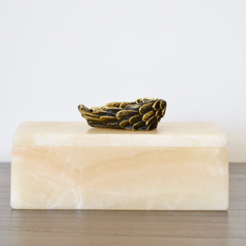 Winged Heart Onyx Box