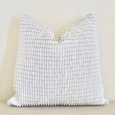 Modern Ruffle Pillow
