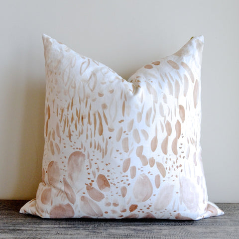 Blush Blooms Pillow