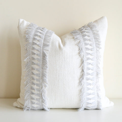 Light Blue Lash Twist Pillow