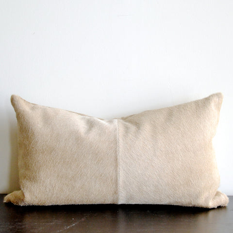 Blonde Hide Pillow