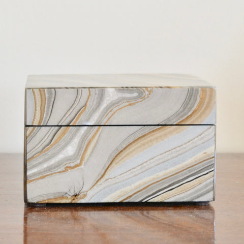 Marbleized Lacquer Box