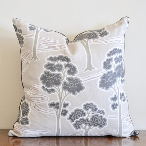 Tree & River Pillow