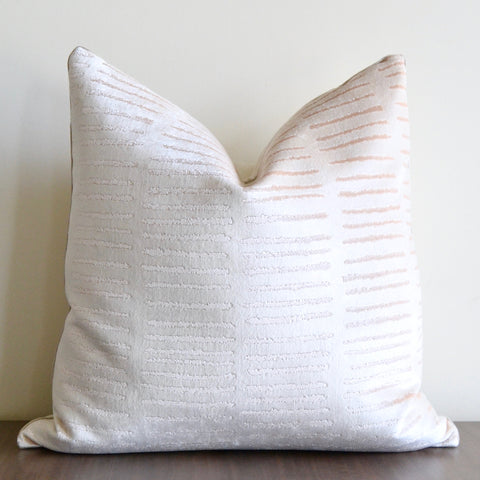 Blush Dash Pillow