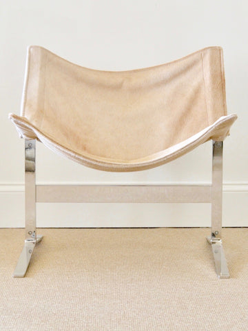 Hide Sling Chair