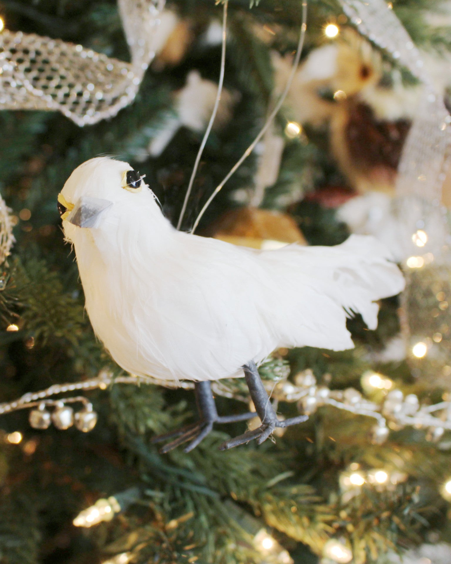 White dove ornament - White Dove Ornament