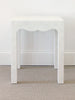 Scalloped Side Table