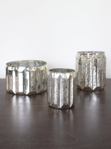 Metallic Mercury Votive
