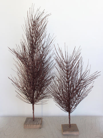 Bronze Metallic Glitter Tree