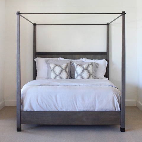 Weathered Metro King Bed