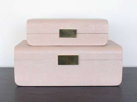 Blush Jewelry Box