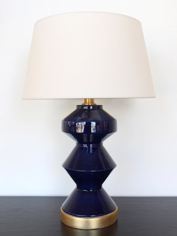 Zig-Zag Table Lamp