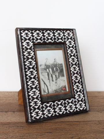 Brown Ikat Frame