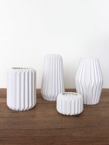 Pleated Candleholder